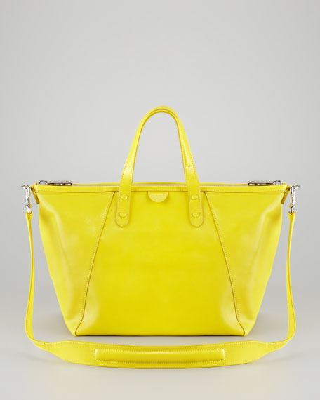 The Small Sheila Tote Bag, Yellow