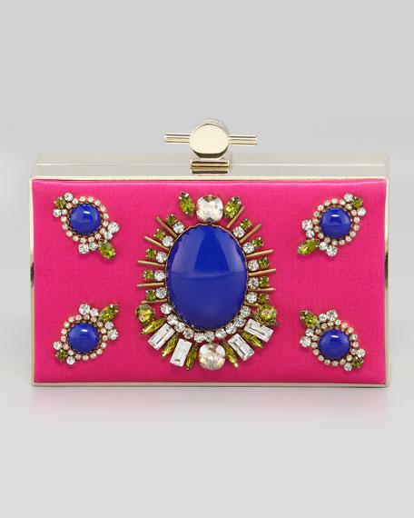 Karlie Box Clutch Bag