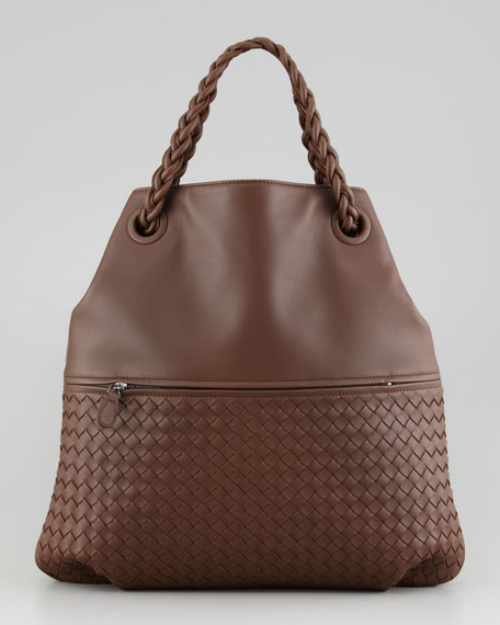 Julie Veneta Shoulder Bag, Brown