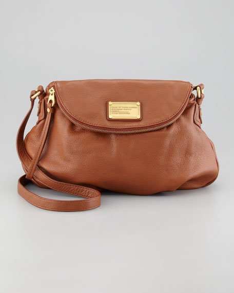 Classic Q Natasha Crossbody Bag, Cinnamon Stick