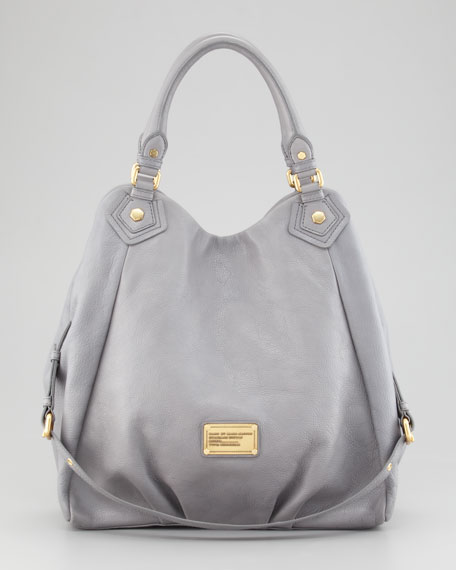 Classic Q Francesca Hobo Bag, Storm Cloud
