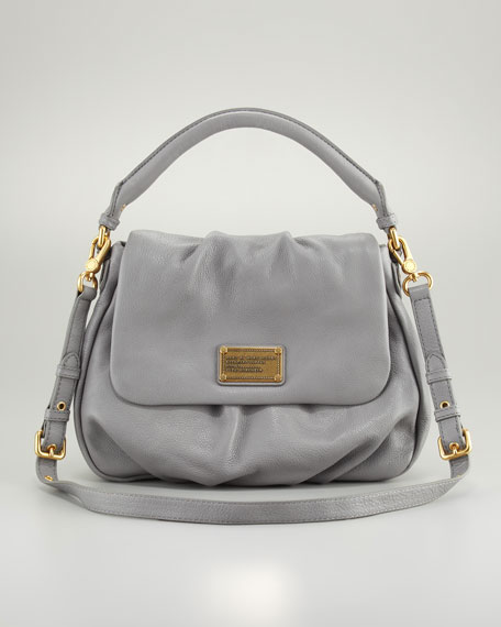 Classic Q Ukita Shoulder Bag, Storm Cloud