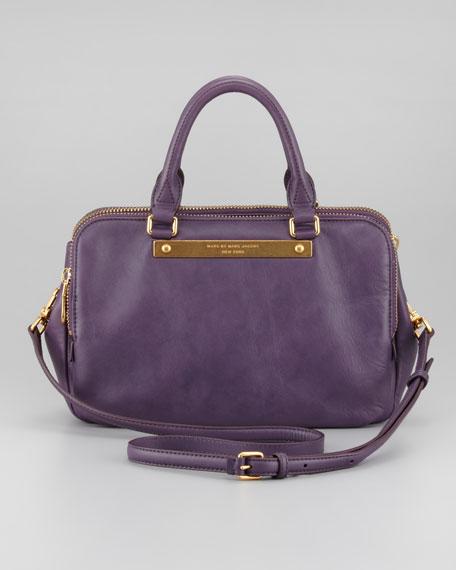 Goodbye Columbus Sylvie Shoulder Bag, Purple Shadow