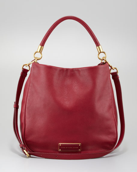 Too Hot To Handle Hobo Bag, Lipstick Red