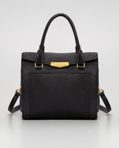 Belmont Melly Mini Satchel Bag, Black