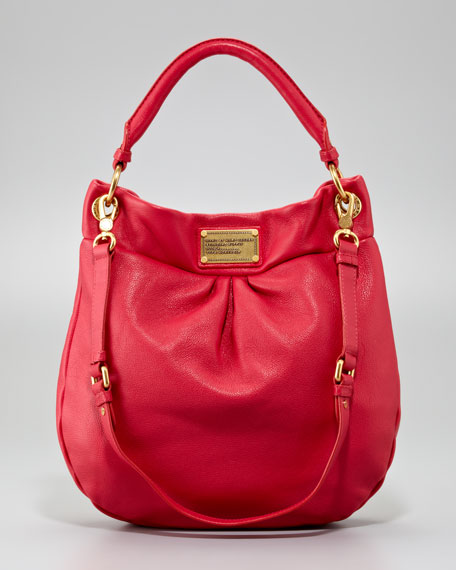 MARC by Marc Jacobs Classic Q Hillier Hobo Bag, Rock Lobster ea8659bdc064
