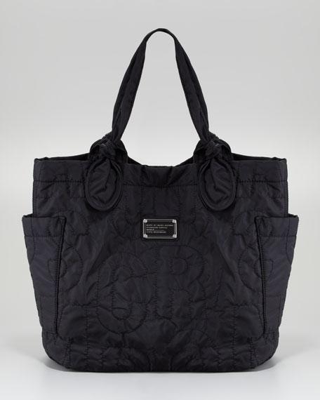 Pretty Nylon Tate Medium Tote Bag, Black