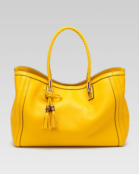 Bella Medium Tote Bag, Bumblebee