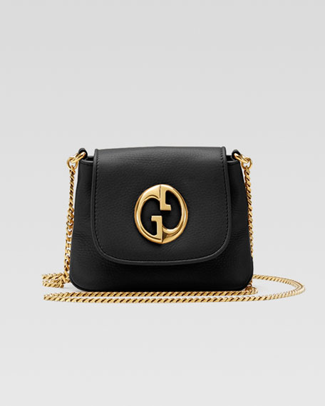 1973 Small Shoulder Bag, Black