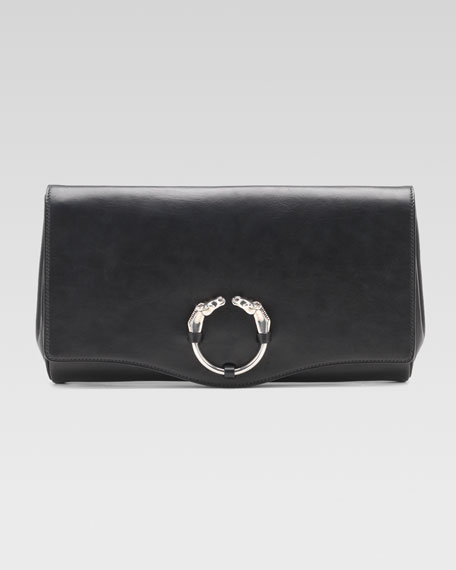 Ribot Clutch Bag, Black