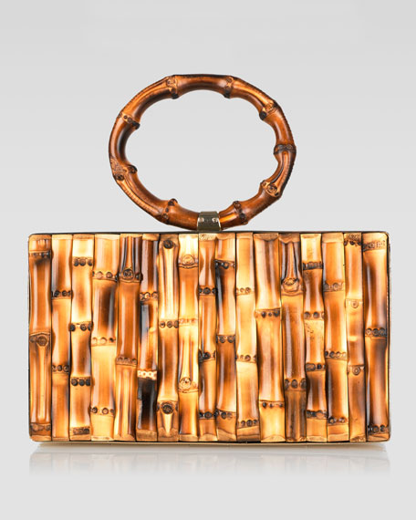 Hula Pandora Clutch Bag, Bamboo