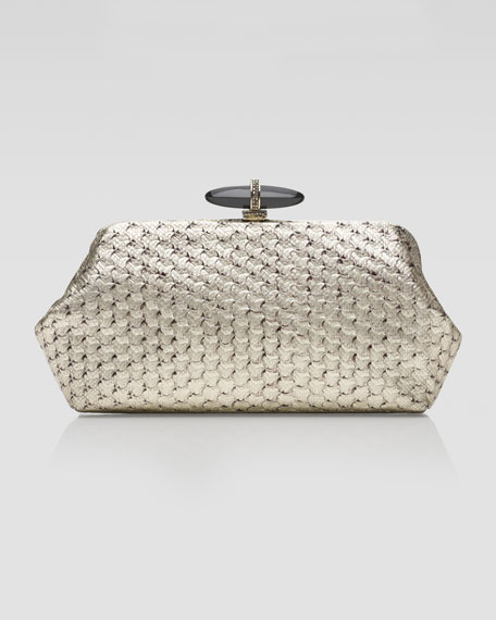 Whitman Optical Karung Clutch Bag, Champagne