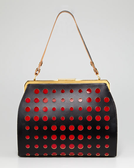 Dot Frame Handbag