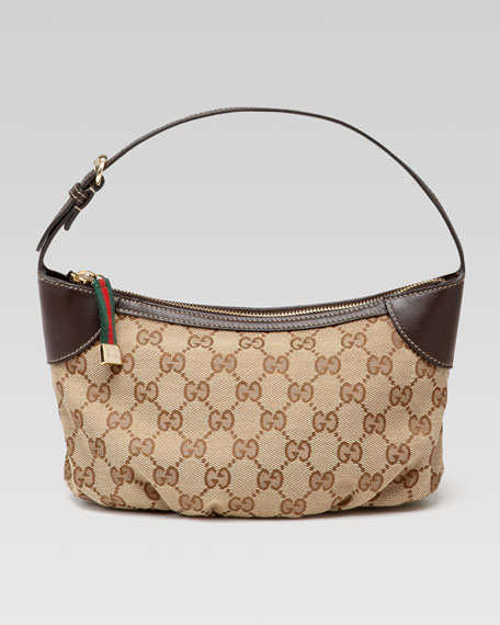 Plisse Sling Cosmetic Case, Cocoa