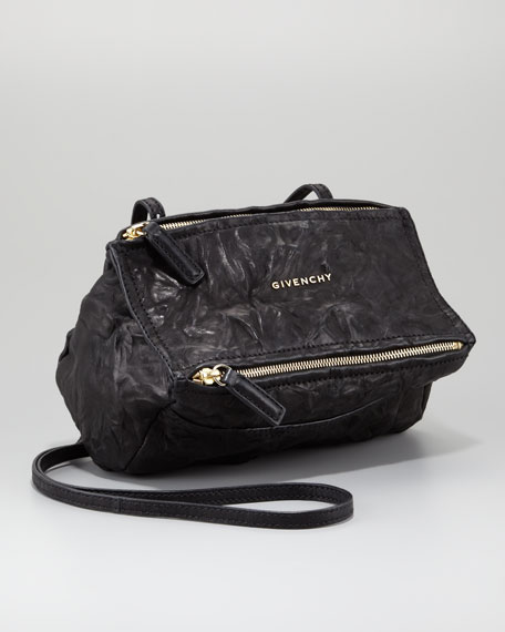 Mini Pandora Crossbody Bag, Black