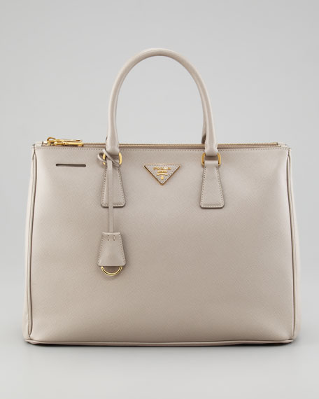 Saffiano Executive Tote Bag, Pomice