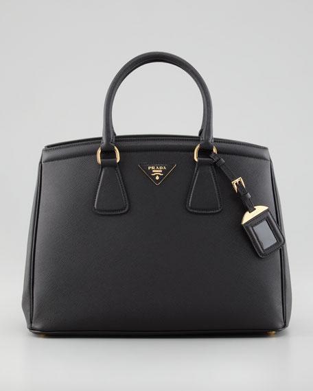 Saffiano Parabole Bag, Nero