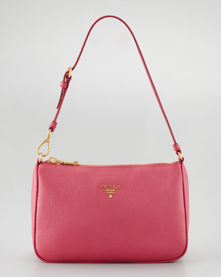 Daino Mini Shoulder Bag, Peonia