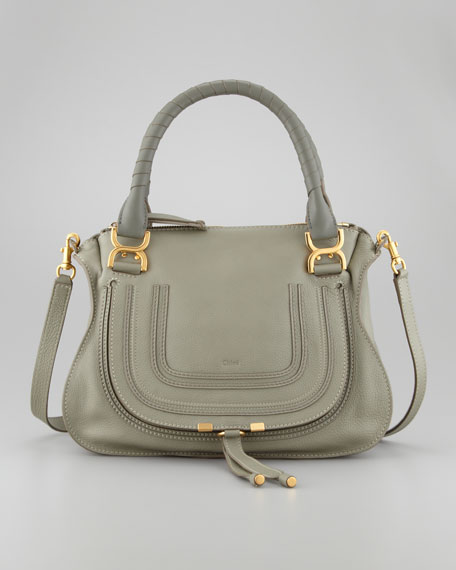 Marcie Medium Satchel, Toscano Cypress