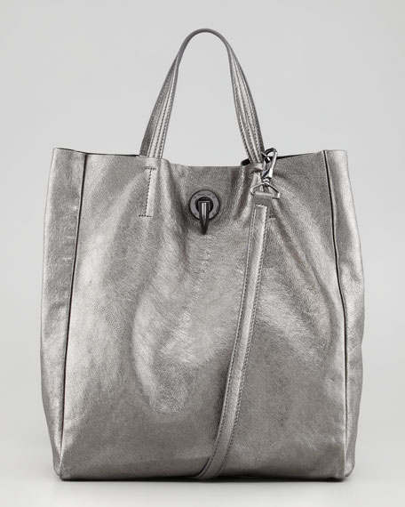 Eve Day Tote Bag, Pewter