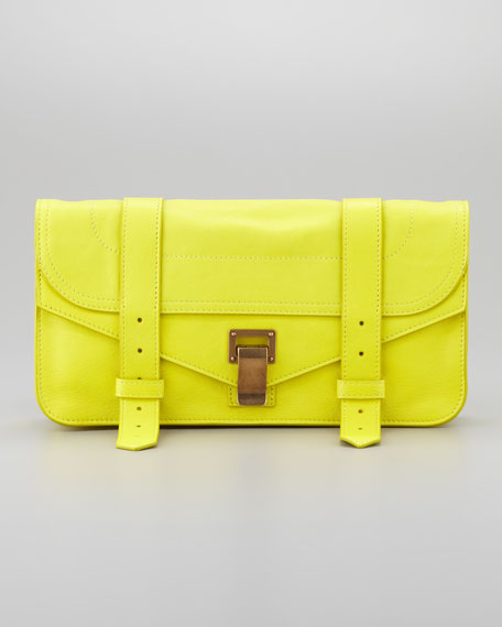 PS1 Pochette Clutch Bag, Sunshine