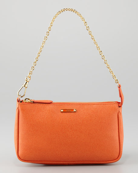 Crayon Pochette Bag, Orange
