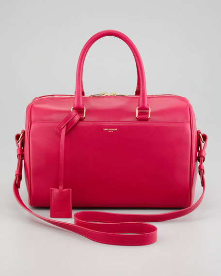 Small Duffel 6 Bag, Fuchsia