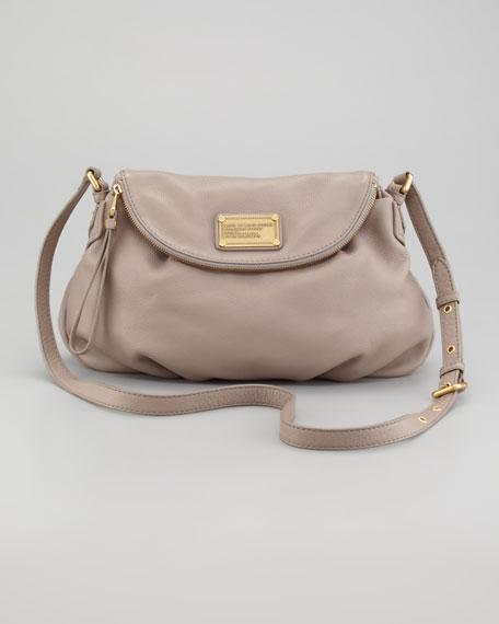 Classic Q Natasha Crossbody Bag, Gray