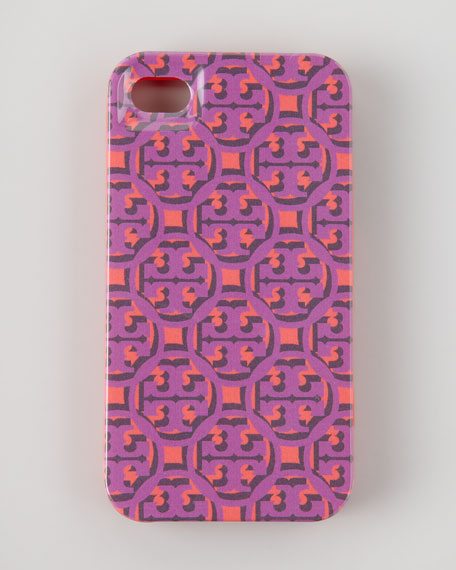 Logo Lattice Hard Shell iPhone 5 Case, Pink