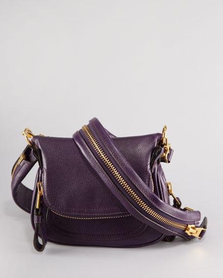 Jennifer Mini Crossbody Bag, Plum