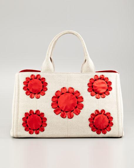 39a1a1a6f94d netherlands prada mistollino floral gardners tote bag baadb bd464