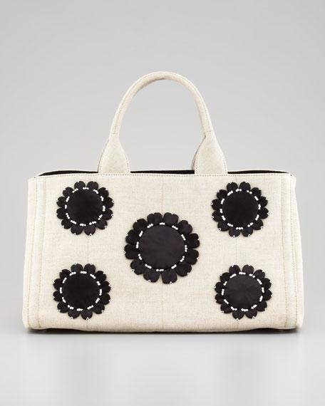 Misollino Floral Gardner's Tote Bag