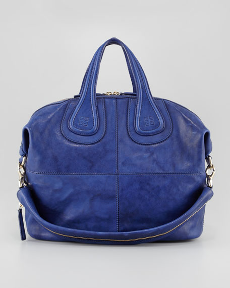 Nightingale Medium Zanzi Satchel Bag, Royal