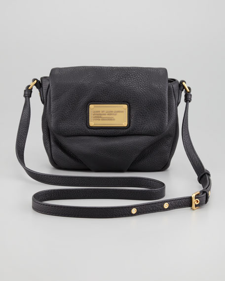 Classic Q Isabelle Crossbody Bag, Black
