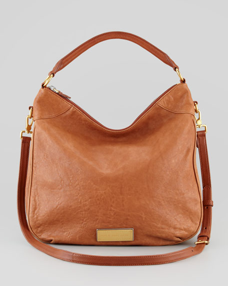 Washed Up Billy Hobo Bag, Brown