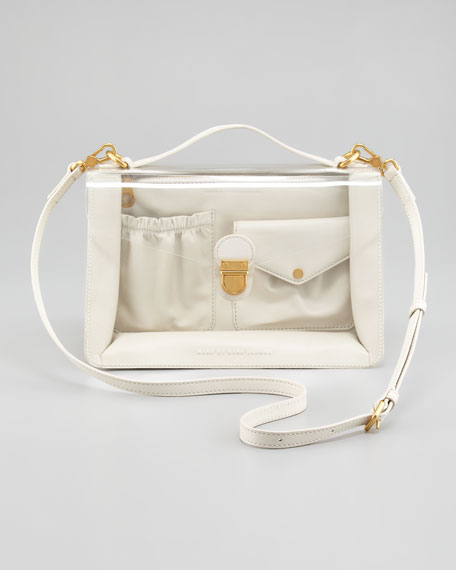 Clearly Top-Handle Satchel Bag