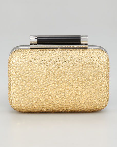 Tonda Pave Crystal Clutch Bag