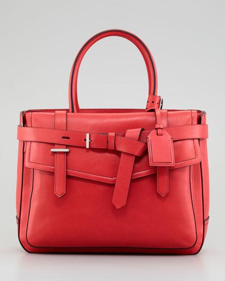 Boxer Tote Bag, Red