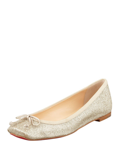 christian louboutin shoes on sale fake - christian louboutin glitter round-toe flats, buy christian ...