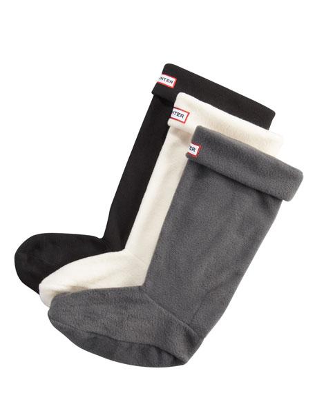 Welly Fleece Socks