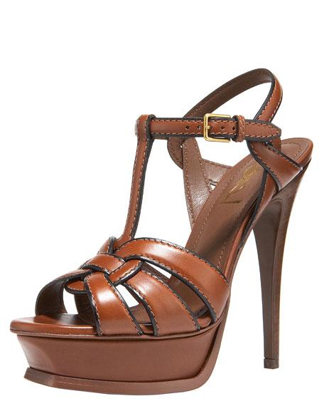 Piped Platform Sandal
