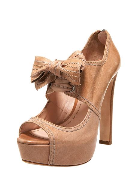 Bow-Tie Mary Jane Bootie