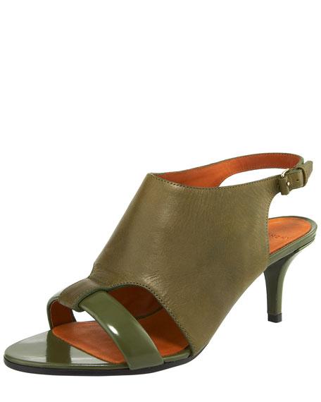 Cutout Slingback Sandal