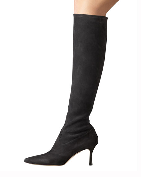 Pascalare Stretch Suede Boot