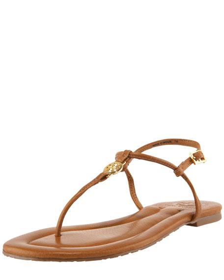 116e81e1a560 Tory Burch Emmy Logo Thong Sandal