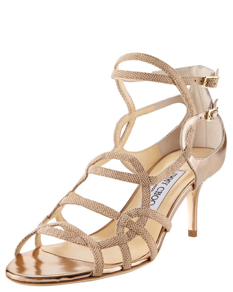 Baden Strappy Low-Heel Sandal