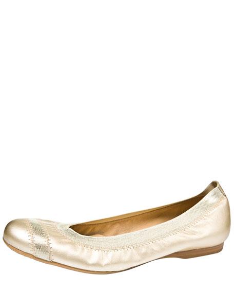 Stretch-Trim Ballerina Flat