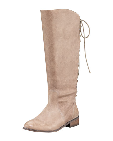 Back-Lace Boot
