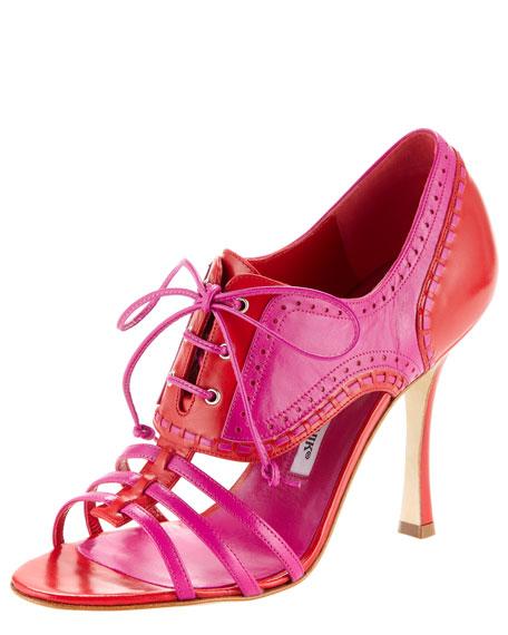 Fonden Colorblock Spectator Sandal
