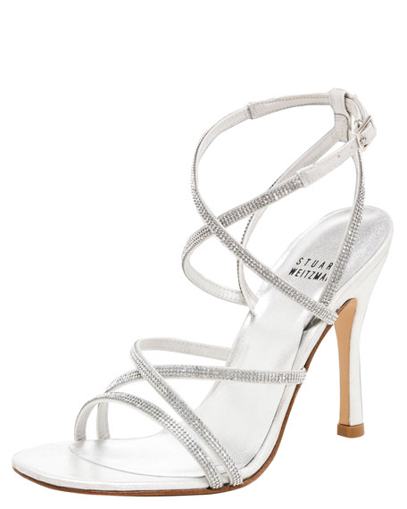 Strappy Crystal Sandal
